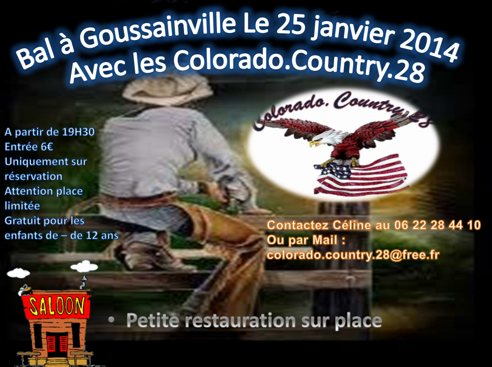bal du 25 janvier Colorado Country