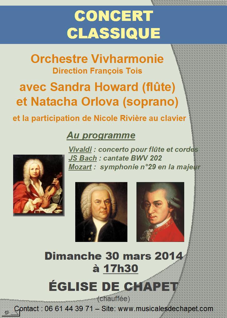 Vivharmonie 30 mars 2014