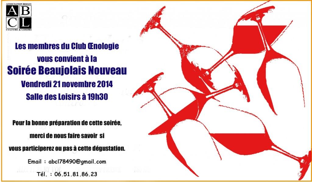 Soirée Beaujolais 2014