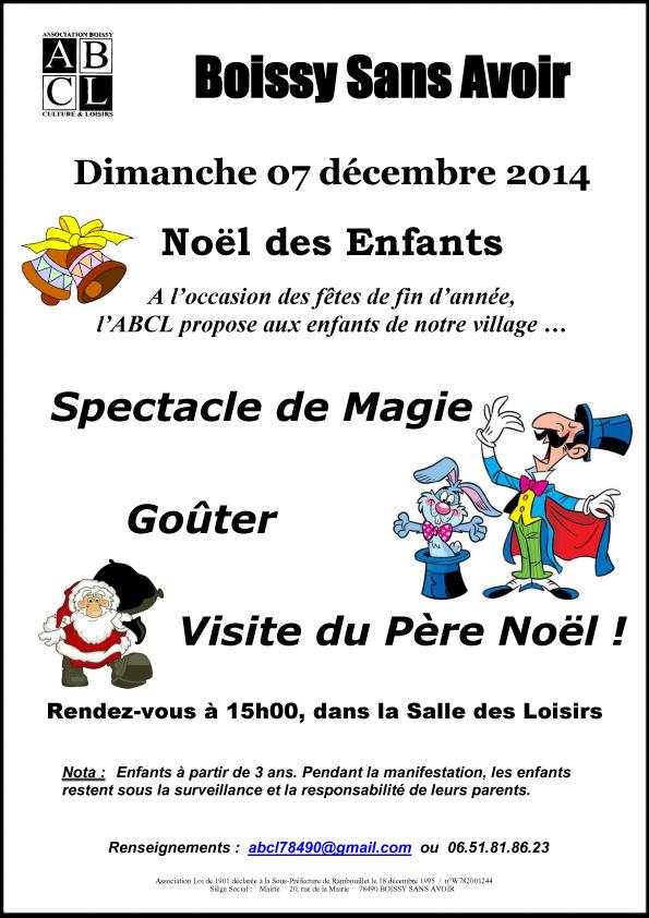 Tract Noël Enfants du 07 12 2014