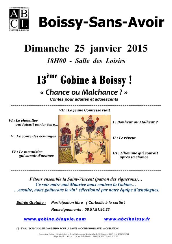 Tract Gobine du 25-01-15