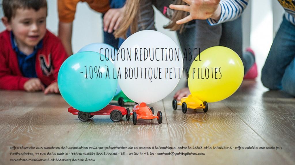Bon Plan Petits Pilotes Mars 2015